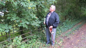 Dendrologist and Botanist explores Cefn Ila
